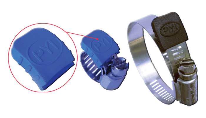 Clamp Jacket Protective Cover For Hose Clamp Tail
