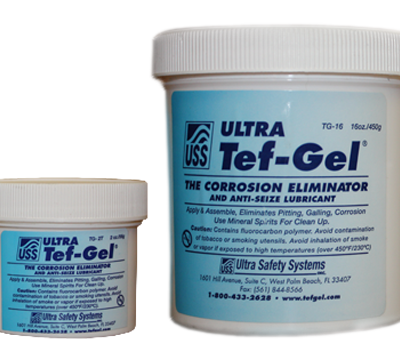 TEF-GEL, Lubricant anticorrosive pots