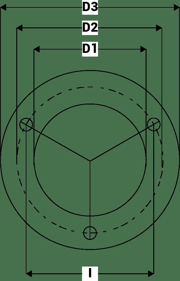Dimensions anode Max-Prop