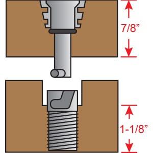 Floor Anchors -7/8