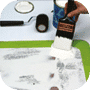 Applicationde la peinture antidérapante KiwiGrip