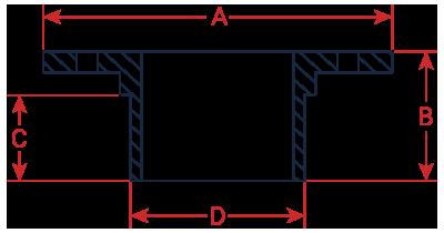 Flange & Bladder custom dimensions