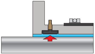 Joint Dégonflé, l'eau passe