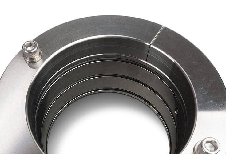 PSS Shaft Seal type B rotor close up