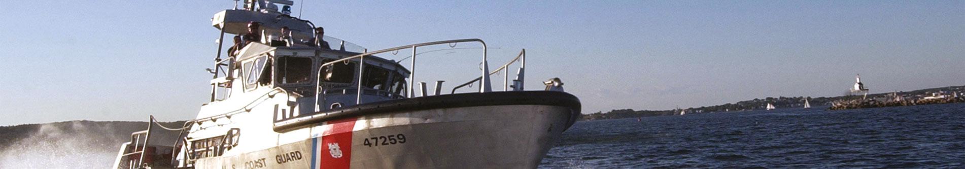 US Coast Guard équipé de joint mécanique PSS