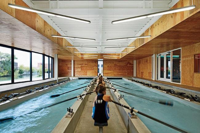 Rowing pool