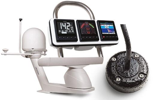 SEAVIEW : Supports, PODS et Passe-Câbles pour électronique marine
