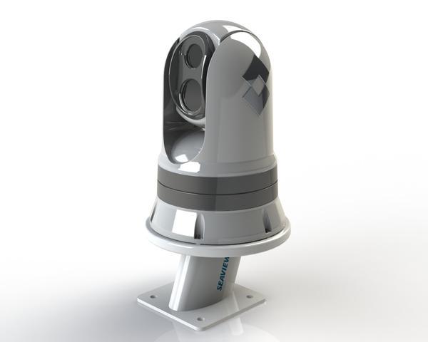 "Seaview aft lening 5"" mount for FLIR M300 series thermal camera"