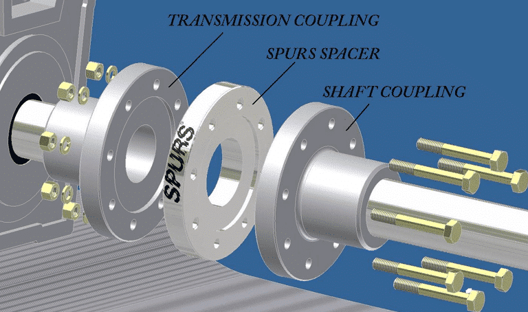 Spurs Spacer Transmission
