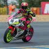 Emeline Moto Team 17 - pilote bobygirl
