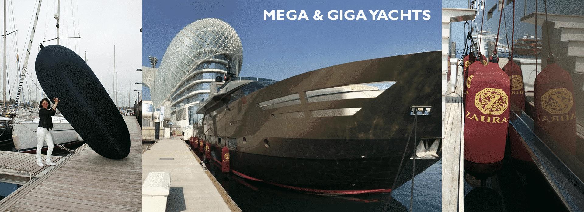 mega & Giga Yachrs Fendertex Fenders